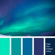 Color Palette - Million Shade Hue Color, Color Palate, Color Shades, Color Schemes Colour Palettes, Cool Color Palette, Logo Color Combinations, Blue Palette, Decoration Palette, Color Palette Challenge
