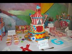 28 Circus Carnival Themed Birthday Party Ideas for Kids - Diy Craft Ideas & Gardening