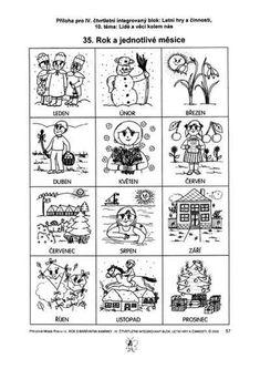 Rok – vyrabimesdetmi – album na Rajčeti Weather For Kids, Teaching Aids, Preschool Themes, Elementary Science, Stories For Kids, Educational Activities, Primary School, Projects For Kids, Homeschool