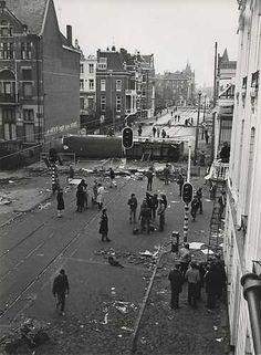 Kraken; Rellen in de Vondelstraat. 1980. Squatting; Riots in the Vondelstraat, Amsterdam 1980