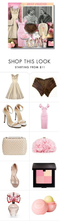 """""""BEST FRIEND"""" by angelflair ❤ liked on Polyvore featuring Mink, Stop Staring!, Glint, Betsey Johnson, Laura Mercier, BCBGMAXAZRIA, dELiA*s and Ippolita"""