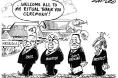 Zapiro: Jacob Zuma and the Nkandla 'ritual' - Mail & Guardian