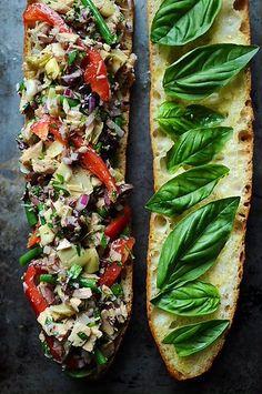 Pain Bagnat: French Tuna Salad Sandwich