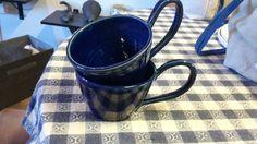 kopp för dig som har svårt att  hålla i ett litet öra. #keramik #stengods #konst #kobolt #mellerud #ateljé #kök #drejat #kaffe