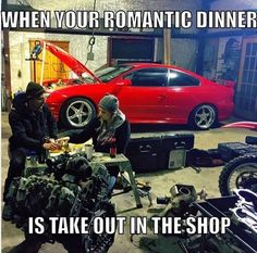 Car Photos and Video - Couple Goals! Credit - Emily Williams Reeves Car Photos And Video Mechanic Humor, Mechanic Jobs, Mechanic Garage, Album Design, Maisie Williams, Funny Car Quotes, Truck Quotes, Car Guy Quotes, Truck Memes