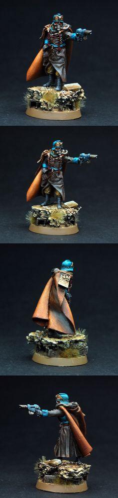 Death Korps Quartermaster Commissar Games Day 2013