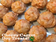 A tail-waggin' treat recipe for your four-legged friend! Carrot Dogs, Mini Muffins, Muffin Recipes, Four Legged, Dog Treats, Carrots, Breakfast, Ethnic Recipes, Easy