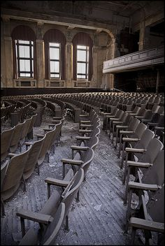 Abandoned school in Baltimore, MD.