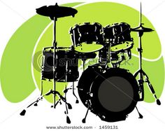 Drums even look good in animation. I could be a cartoon drummer.