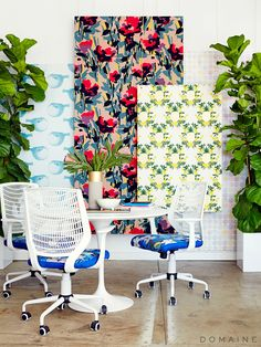 How to Make the Hanging Wallpaper Panels