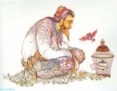djevojka — persian miniatures