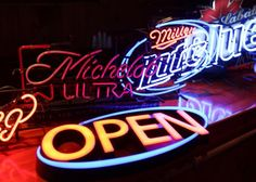 Michelob Ultra Superior Light Beer Neon Sign 32 Inches