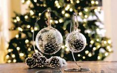 Decorazioni di Natale con pigne: tante proposte da realizzare - Scoprite con noi le decorazioni di Natale con le pigne! Vi spieghiamo quali sono le  proposte da realizzare per rendere chic la casa!