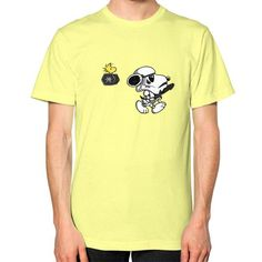 snoop troopers Unisex T-Shirt (on man)
