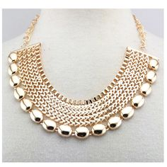 Our gorgeous Imperial Statement Necklace adds elegance to any outfit. Dress up a simple dress or blouse for date night or a night out with the girls!