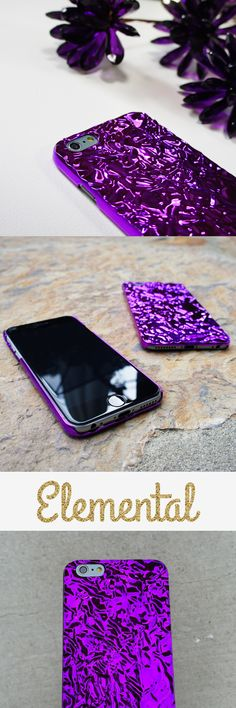 Amethyst Crystalline Case from Elemental Cases - iPhone 6 and iPhone 6 Plus