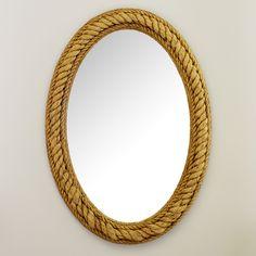 Skipper Rope Wall Mirror | Wayfair