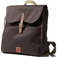 PacaPod Hastings Mocha – Wickeltasche – Rucksack – Messenger Bag