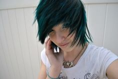short hair | Tumblr   ~~ I waaant this cut and color <3