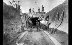 Building the Los Angeles Aqueduct - Framework - Photos and Video - Visual Storytelling from the Los Angeles Times