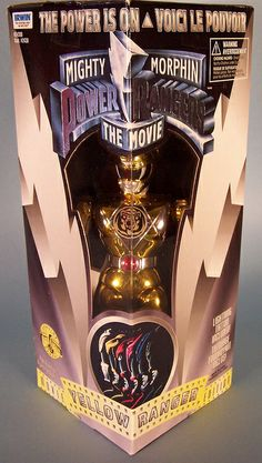 Mighty Morphin Power Rangers: The Movie Yellow Ranger figure