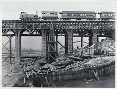 Long Cove Creek viaduct,west of Lewisham Railway Station in 1886.