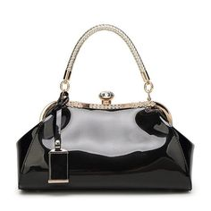 High Quality Patent Leather Women Shoulder Bags Lady Handbags Luxury Evening Women Messenger Bags Famous Brands Female Tote Bag