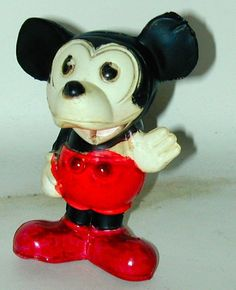 Mickey Mouse Celluloid Rattle (1930's)