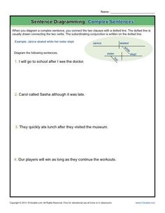 Diagramming sentences with adjectives worksheets electrical work diagramming sentences worksheets adjectives adverbs and articles rh pinterest com diagramming sentences worksheets 9th grade basic ccuart Image collections
