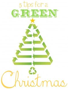 Day 12 - We always support being environmentally friendly, and what is a better time to do that then during a season of excess? Here are a few ways to have a green christmas