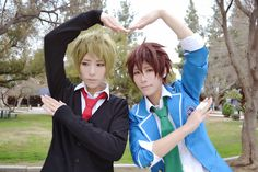 Ensemble Stars! - Tama and Ataito(小蛋☆小提) Tiaki Morisawa, TakamineMidori Cosplay Photo - Cure WorldCosplay