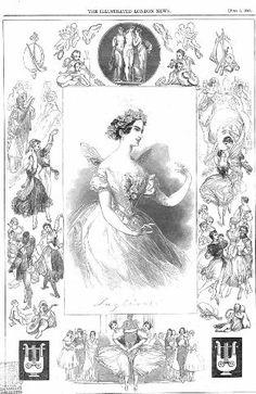 Taglioni. The illustrated London news [July 5, 1845]