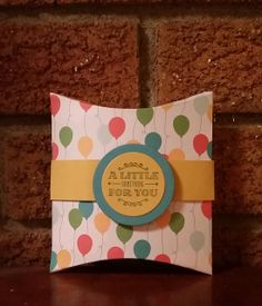 Square Pillow Box Thinlits Dies - Stampin' Up! - Tutorial Video