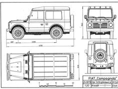 Blueprints de autos viejos y nuevos - Taringa! Defender 90, Land Rover Defender 110, Cheap Race Cars, Jeep Willis, Iveco 4x4, Wooden Toy Cars, Cars Coloring Pages, Car Brochure, Patent Drawing
