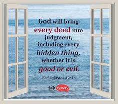 Ecclesiates 12:14
