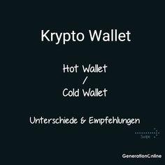 Du interessierst dich für Kryptos und fragst dich was die beste Aufbewahrungsmethode ist? Du willst den Unterschied zwischen einem sogenannten Hot Wallet und einem Cold Wallet Wissen? Dann jetzt den neusten Blogbeitrag lesen! --- Zudem die Frage, brauchts du ein Bitcoin Wallet oder gleich ein Wallet für alle Kryptowährungen? Welche Arten von Wallets gibt es und wie unterscheiden wir diese? Was sind die Vorteile der jeweiligen Walltes. Auf dies gehen wir in diesem Block etwas genauer ein… Blockchain, Hot, Instagram, Not Interested, Knowledge, Benefits Of