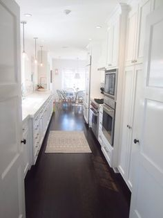 Galley Kitchen On Pinterest Galley Kitchens Galley Kitchen Design