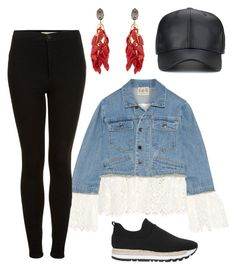 """Guard."" by gatocat ❤ liked on Polyvore featuring Sea, New York, Topshop, DKNY and Marni"
