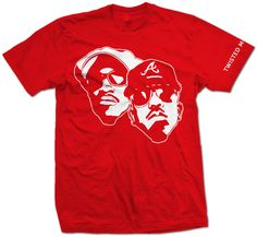 Outkast Him And I Tee (Dungeon Family Red) -