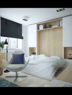 1 Bedroom Apartment Storage Size Best Of 5 Apartment Designs Under 500 Square Feet - Home Decorations Trend 2019 1 Bedroom Apartment, Apartment Furniture, Bedroom Furniture, Apartment Interior, Studio Apartment Layout, Apartment Design, Room Design Bedroom, One Bedroom, Bedroom Ideas