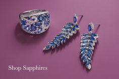 Effy Jewelry   effyjewelry.com White Gold Diamond Bracelet, Sapphire And Diamond Earrings, Diamond Dreams, Pendants, Girls, Jewelry, Toddler Girls, Jewlery, Daughters