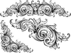 Sketched Victorian Royalty Free Stock Vector Art Illustration