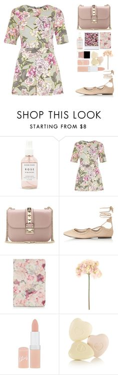 """""""N°64"""" by yellowgrapes ❤ liked on Polyvore featuring Herbivore Botanicals, River Island, Valentino, Topshop, Sia, Rimmel, Butter London and TC Fine Intimates"""