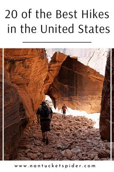 20 of the Best Hikes in the United States by Nantucket spider. Hiking is the perfect outdoor adventure for kids, families, friends or anyone looking to enjoy outdoor beauty such as rainforests, beaches, mountains, and more. We go into detail about the best hiking trails in Wyoming, Utah, Maine, and more locations across the USA. Learn more. Outdoor Adventure Quotes, Adventure Gear, Outdoor Yoga, Outdoor Camping, Natural Tick Repellent, Fly Repellant, Yellowstone Camping, Hiking Essentials, Rainforests
