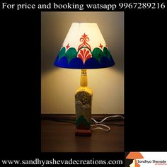 A house at night, and a lamp in the house. A place to feel safe....for more information about us visit our website www.sandhyashevadecreations.com