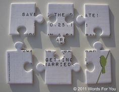 Unique save the date idea