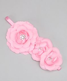 Pretty flower headband