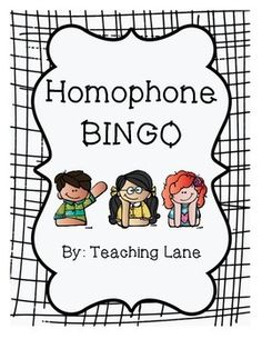 Are your students in need of more practice identifying the correct homophone? This activity could be the answer to your woes! After reviewing homophones, students cut apart the provided sheet of homophones and create their Bingo card. Then, the teacher reads aloud provided sentences for the students to mark the correct homophone.