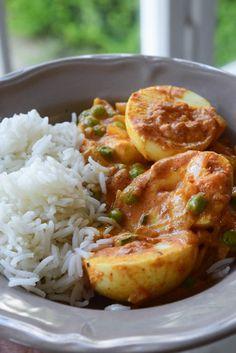 Egg Curry, Tasty, Yummy Food, Weird Food, Food And Drink, Veggies, Coconut, Treats, Kenyan Recipes
