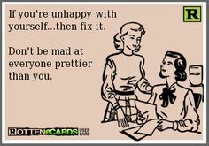 Dont be mad that im prettier than you. But youre an ugly fat cow